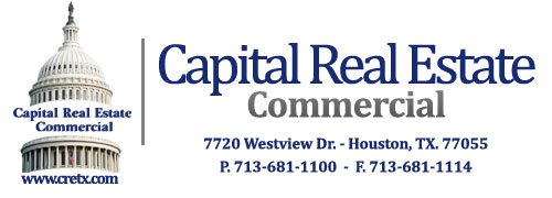 Capital Real Estate Commercial, Inc. - Logo and Contact Information